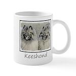 Keeshonds 11 oz Ceramic Mug