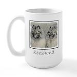Keeshonds 15 oz Ceramic Large Mug