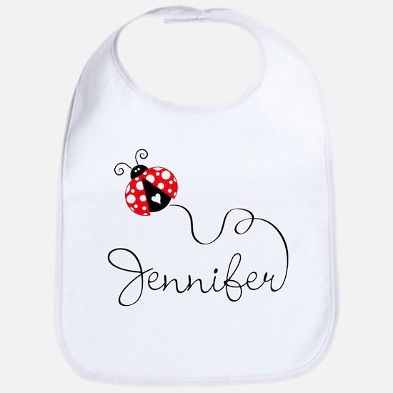 Ladybug Jennifer Bib