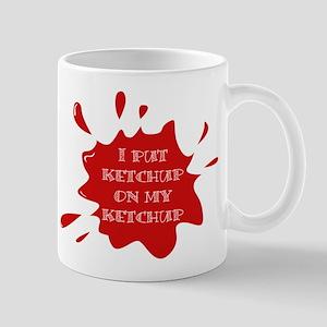 ketchup on ketchup Mugs