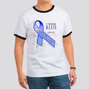 I Wear Blue for my Grandpa Ringer T
