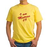 I am mistress #9 Yellow T-Shirt