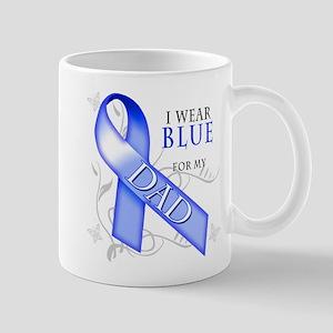 I Wear Blue for my Dad Mug