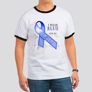 I Wear Blue for my Dad Ringer T