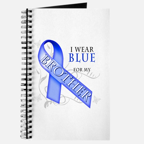 I Wear Blue for my Brother Journal