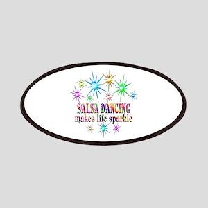 Salsa Dancing Sparkles Patch