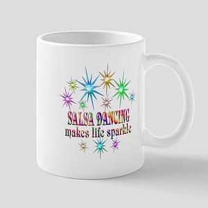 Salsa Dancing Sparkles 11 oz Ceramic Mug