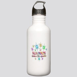 Salsa Dancing Sparkles Stainless Water Bottle 1.0L