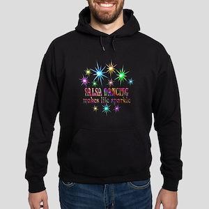 Salsa Dancing Sparkles Hoodie (dark)