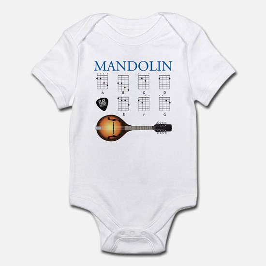Mandolin 7 Chords Infant Bodysuit