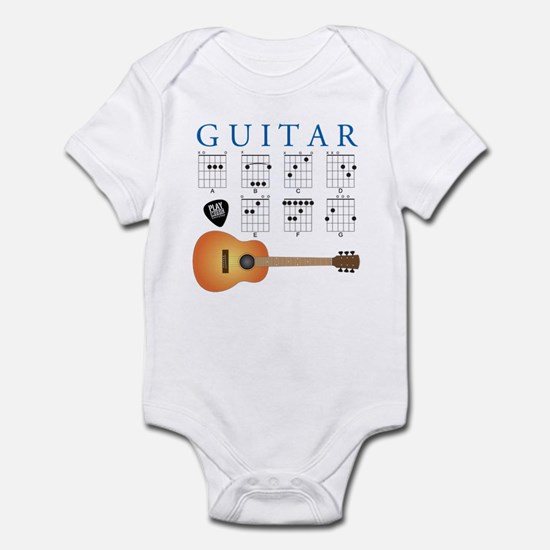 Guitar 7 Chords Infant Bodysuit