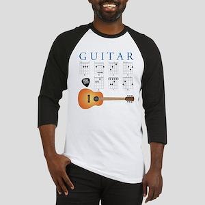 Guitar 7 Chords Baseball Jersey