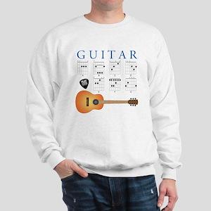 Guitar 7 Chords Sweatshirt