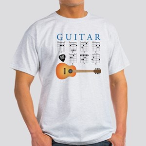 Guitar 7 Chords Light T-Shirt