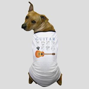 Guitar 7 Chords Dog T-Shirt