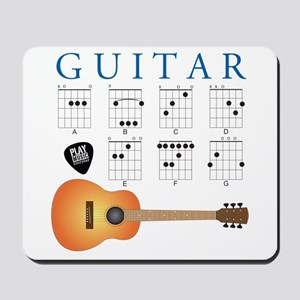 Guitar 7 Chords Mousepad