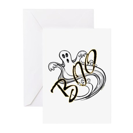 Boo Ghosts Greeting Cards (Pk of 20)