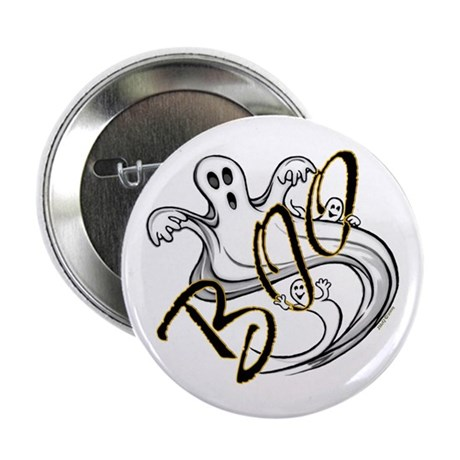 "Boo Ghosts 2.25"" Button (100 pack)"