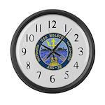 USS Bolster (ARS 38) Large Wall Clock