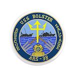 """USS Bolster (ARS 38) 3.5"""" Button (100 pack)"""