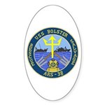 USS Bolster (ARS 38) Oval Sticker (50 pk)
