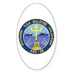 USS Bolster (ARS 38) Oval Sticker (10 pk)