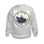 USS Fulton (AS 11) Kids Sweatshirt