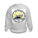 USS Howard W. Gilmore (AS 16) Kids Sweatshirt