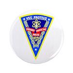 "USS Proteus (AS 19) 3.5"" Button (100 pack)"