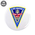 "USS Proteus (AS 19) 3.5"" Button (10 pack)"