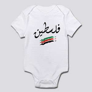 Palestine Flag Infant Creeper