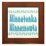 Minnetonka Minnesnowta Framed Tile