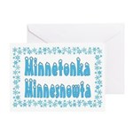 Minnetonka Minnesnowta Greeting Card