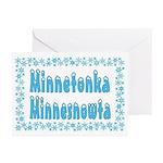 Minnetonka Minnesnowta Greeting Cards (Pk of 20)