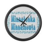 Minnetonka Minnesnowta Large Wall Clock