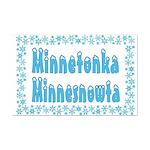 Minnetonka Minnesnowta Mini Poster Print