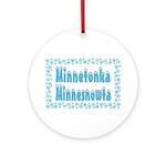 Minnetonka Minnesnowta Ornament (Round)