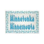 Minnetonka Minnesnowta Rectangle Magnet (10 pack)
