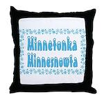 Minnetonka Minnesnowta Throw Pillow