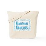 Minnetonka Minnesnowta Tote Bag