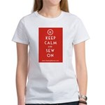Sewing Mama Sew On Women's T-Shirt