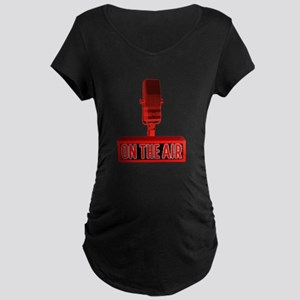 ON THE AIR Maternity Dark T-Shirt