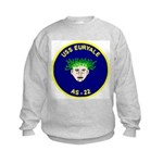 USS Euryale (AS 22) Kids Sweatshirt