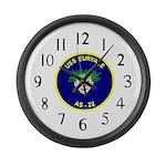 USS Euryale (AS 22) Large Wall Clock