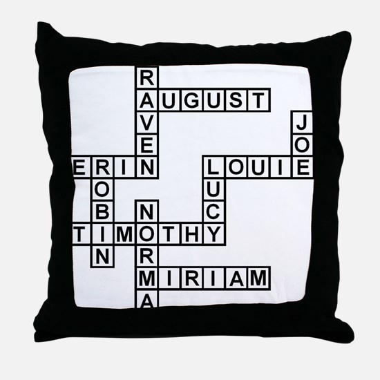 HOWLAND SCRABBLE-STYLE Throw Pillow