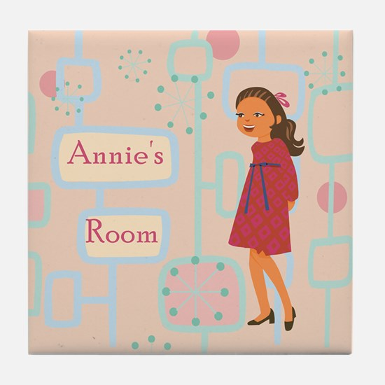 Personalized Picture and Name Tile Plaque For Your