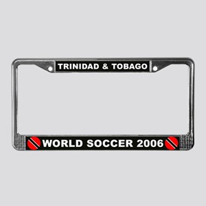 Trinidad and Tobago World Cup License Plate Frame