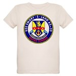 USS Emory S. Land (AS 39) Organic Kids T-Shirt