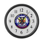 USS Emory S. Land (AS 39) Large Wall Clock