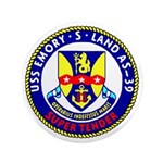 """USS Emory S. Land (AS 39) 3.5"""" Button (100 pack)"""